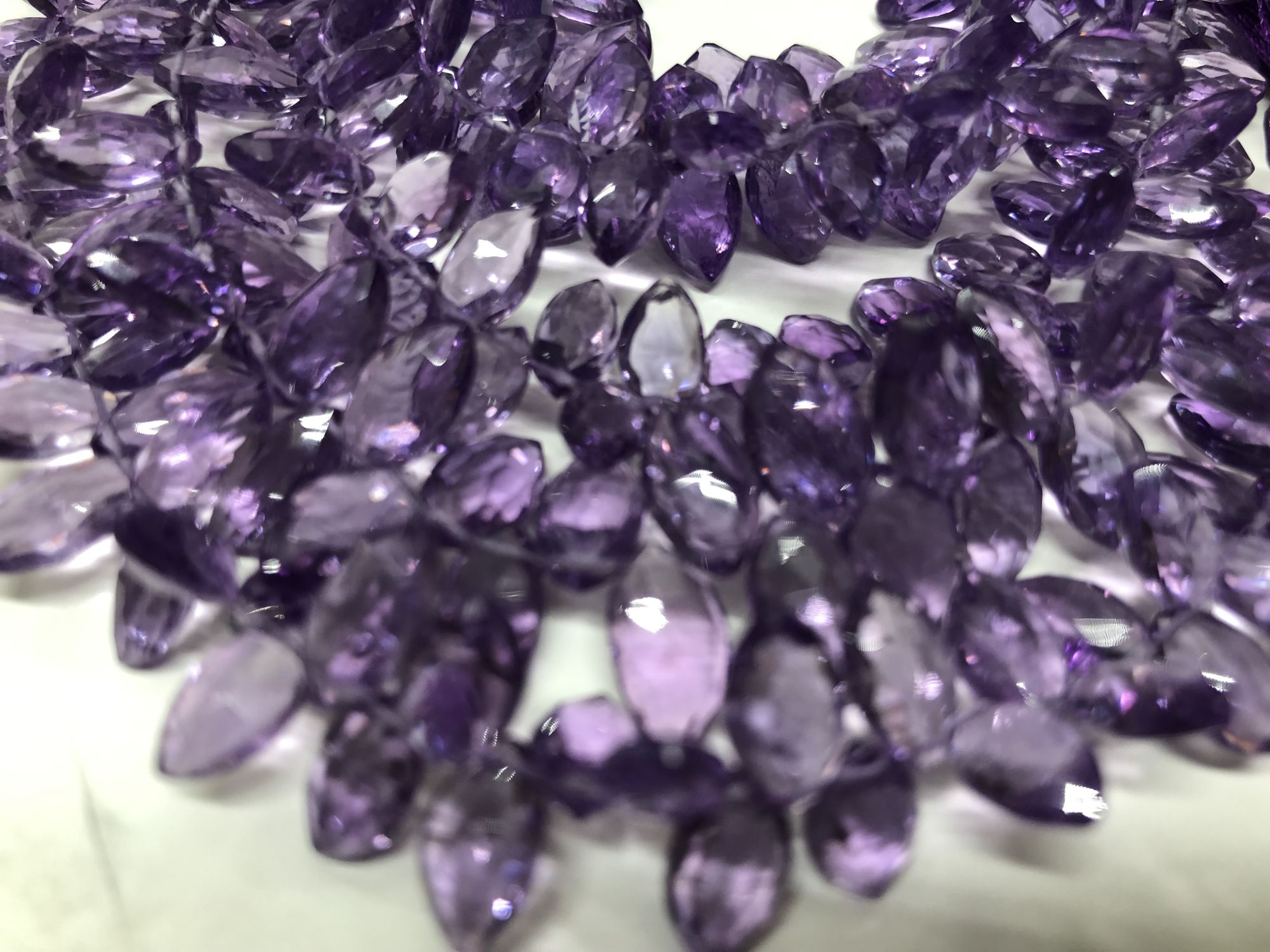 Amethyst Marquise Faceted