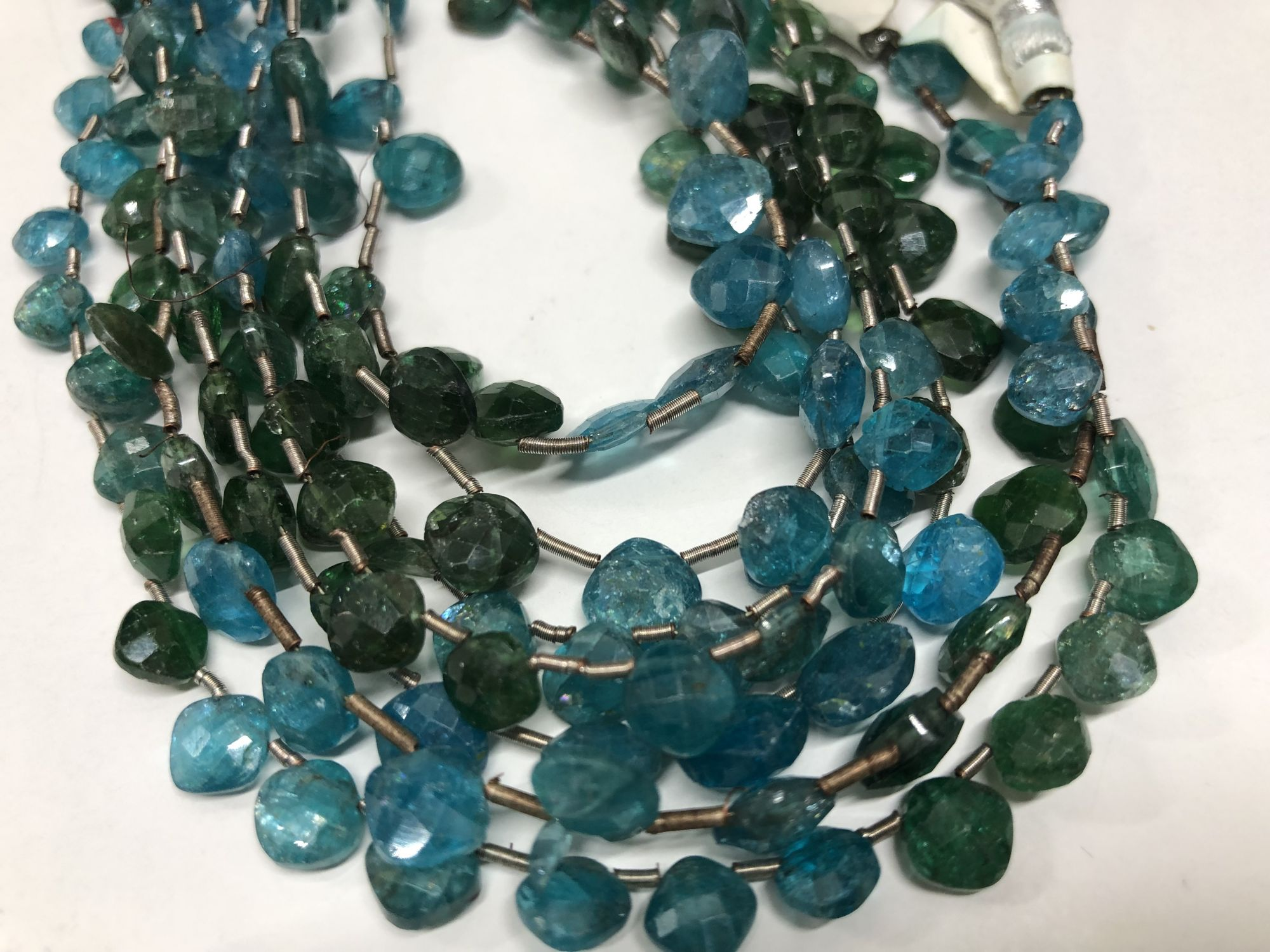 Apatite Cushions Faceted