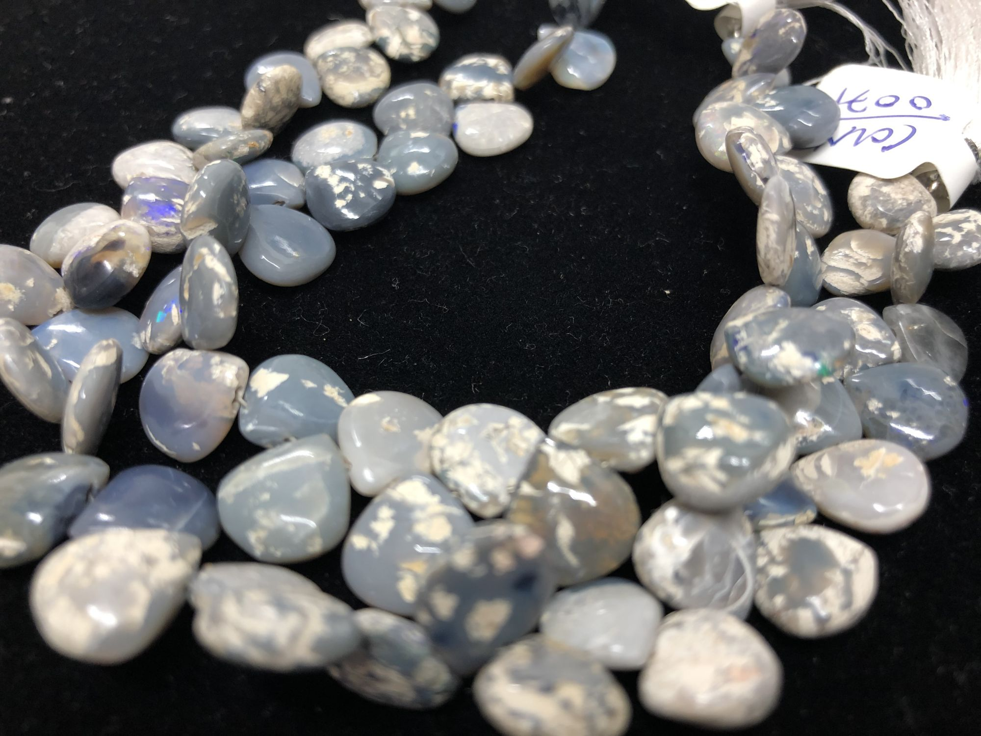 Lightning Ridge Australian Opal Hearts Smooth