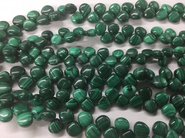 Malachite Hearts Smooth