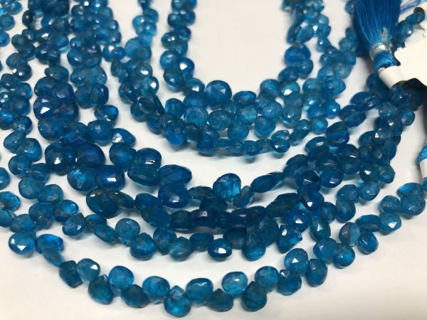 Apatite Hearts Faceted