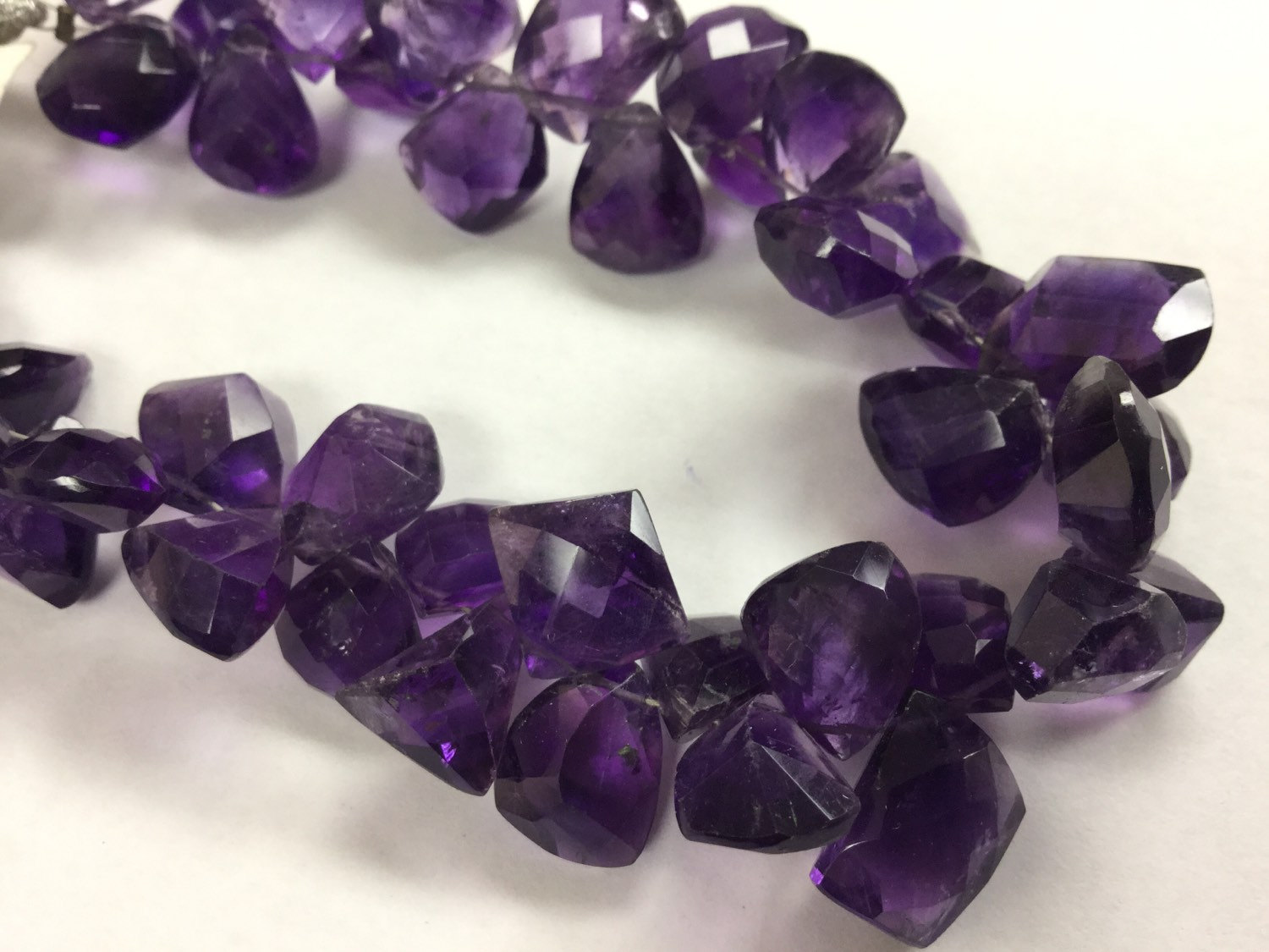 African Amethyst Funky Cut Faceted