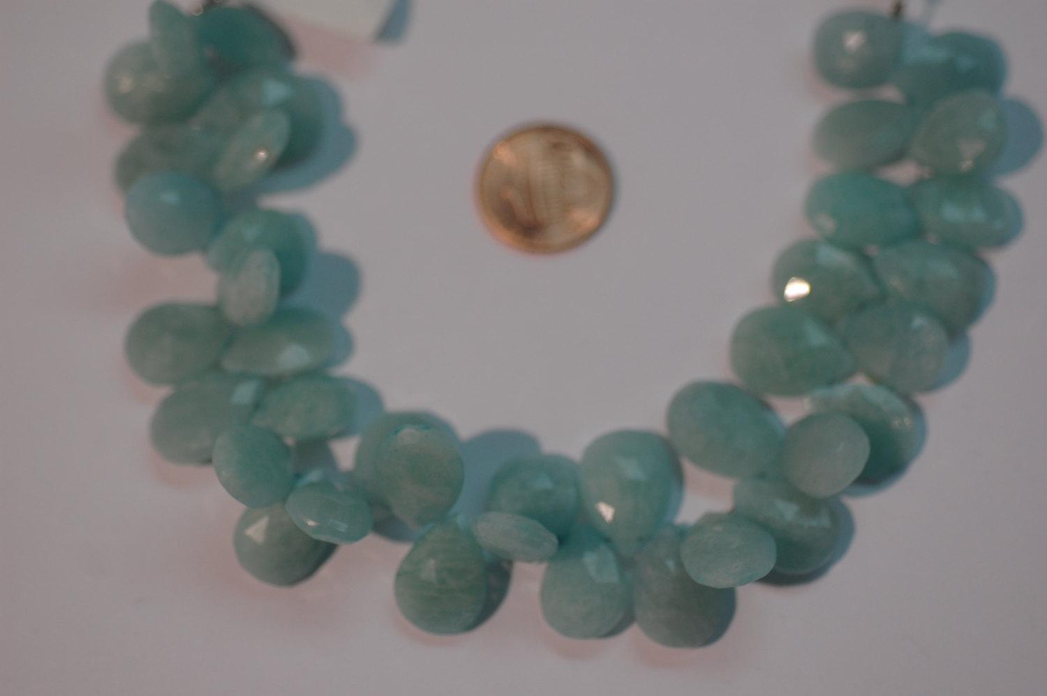 Amazonite Pear Faceted