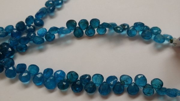 Apatite Hearts Faceted (NATURAL)
