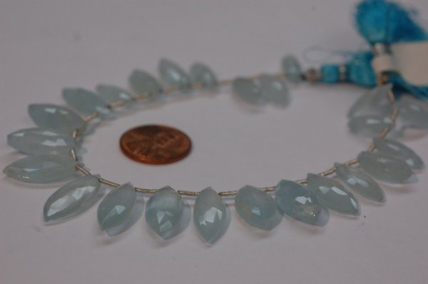 Aquamarine Marquise Faceted