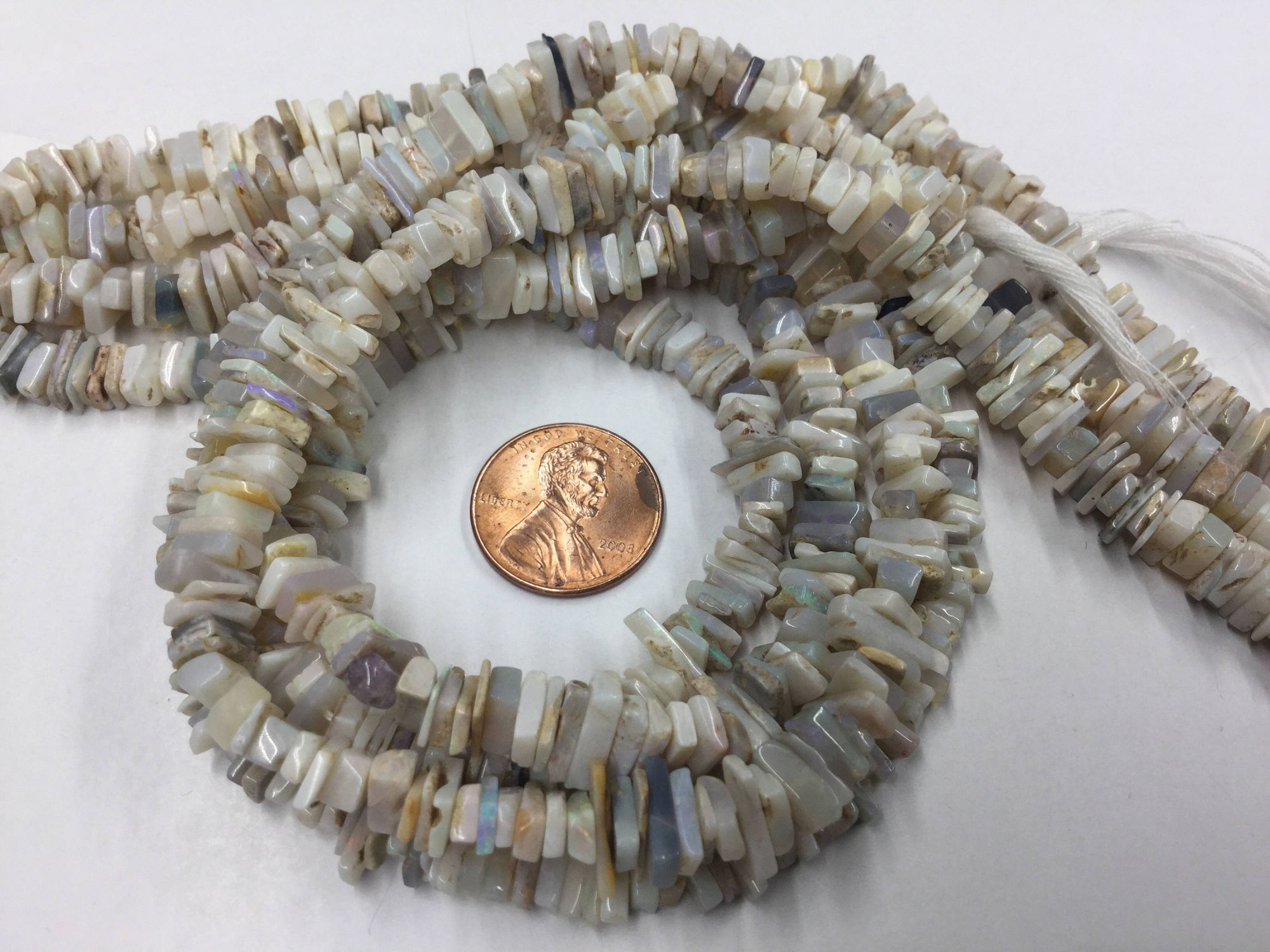 Australian Moonstone Slices Faceted