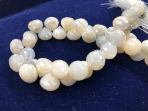 Mystic Moonstone Onion Faceted