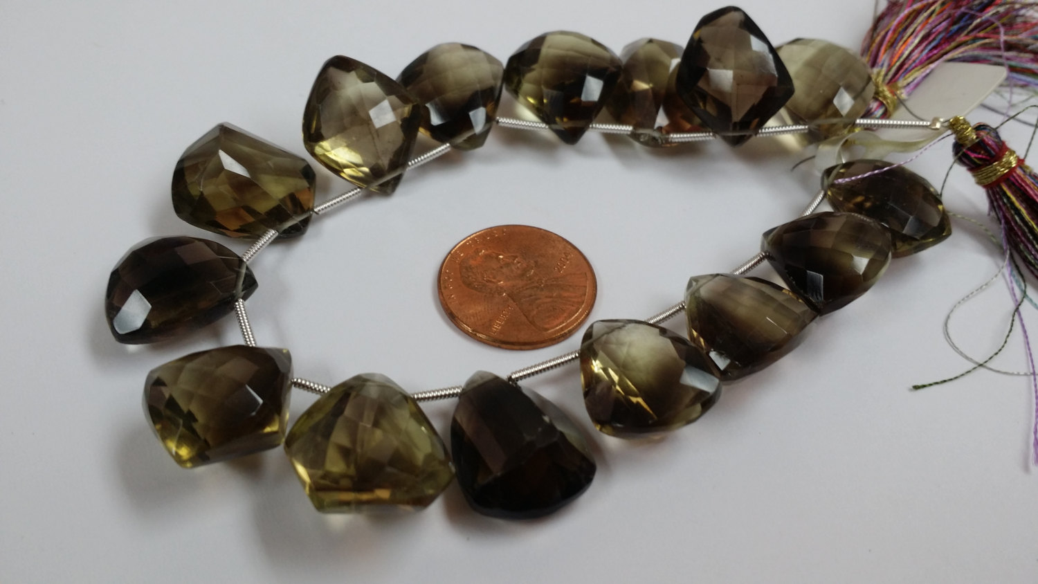 Beer Whisky Funky Cut Quartz Faceted
