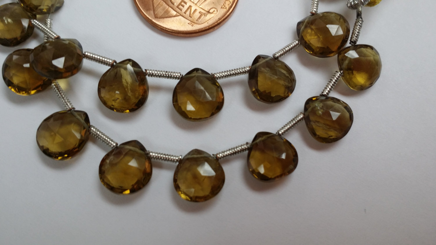 Beer Whisky Quartz Hearts Faceted