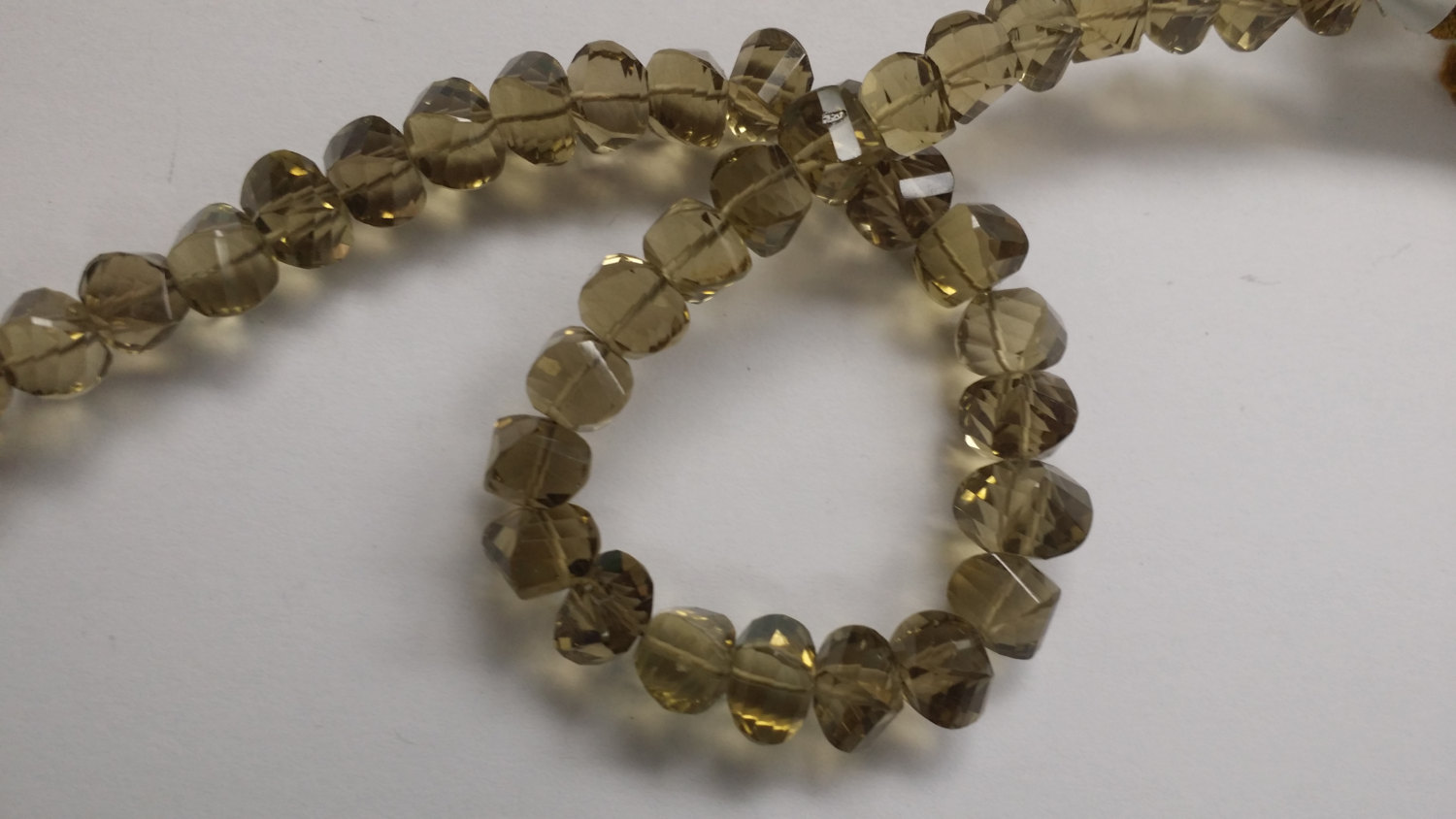 Beer Whisky Quartz Twisted Drops Faceted