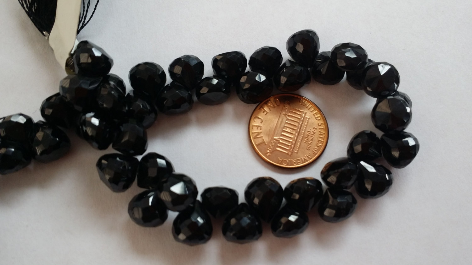 Black Spinel Onions Faceted