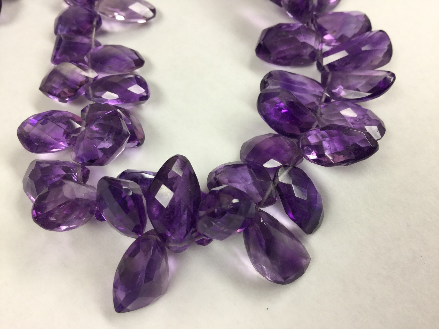 Brazilian Amethyst Funky Cut Faceted