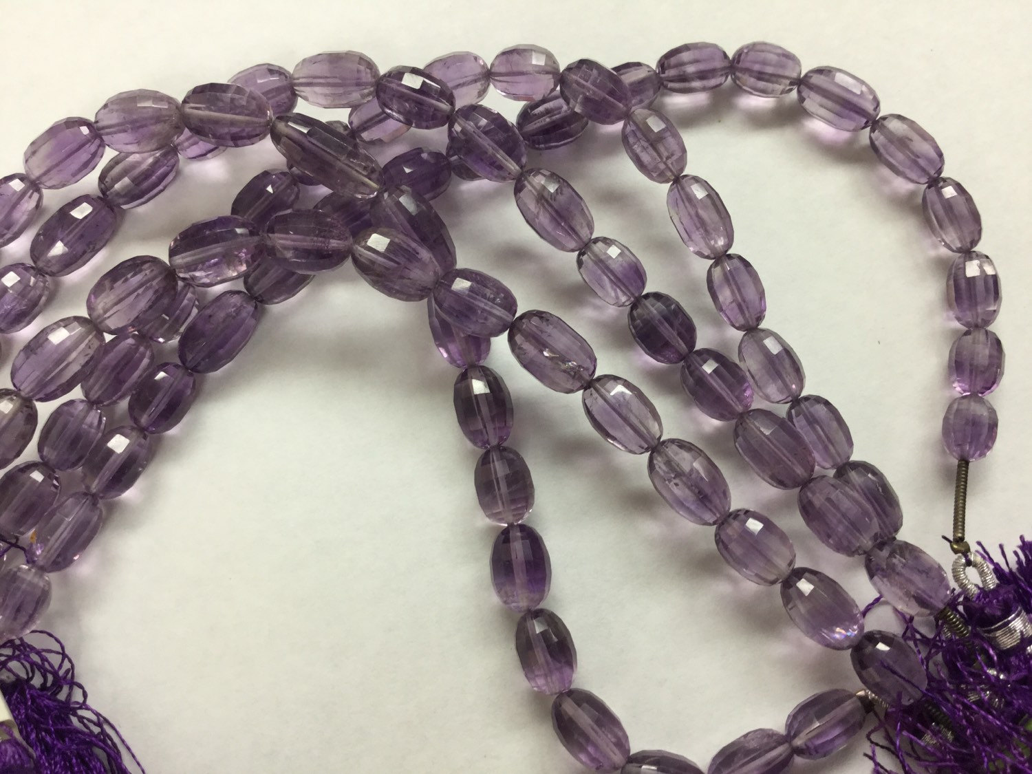 Brazilian Amethyst Ovals Faceted