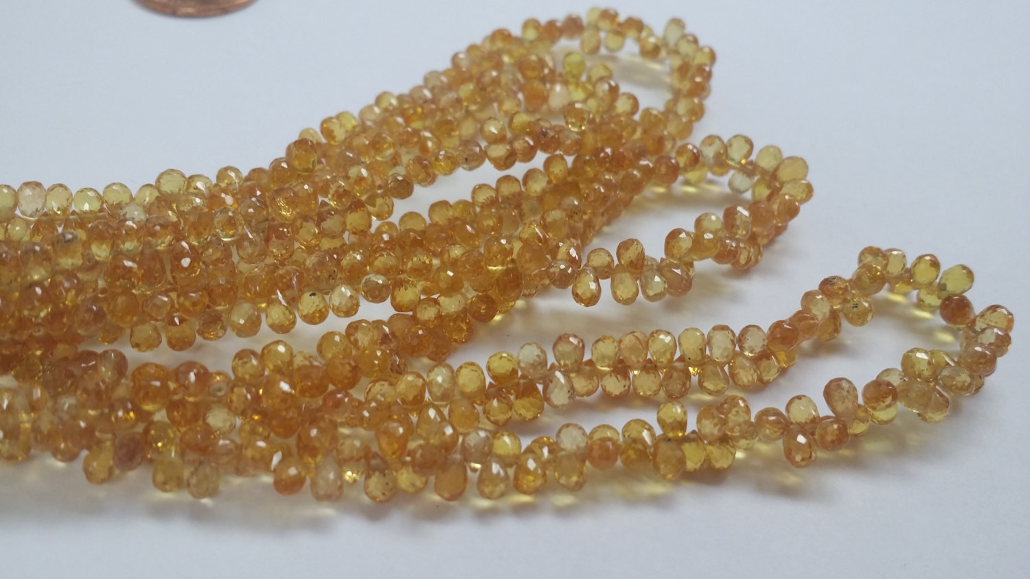 Bright Yellow Madagascar Sapphire Drops
