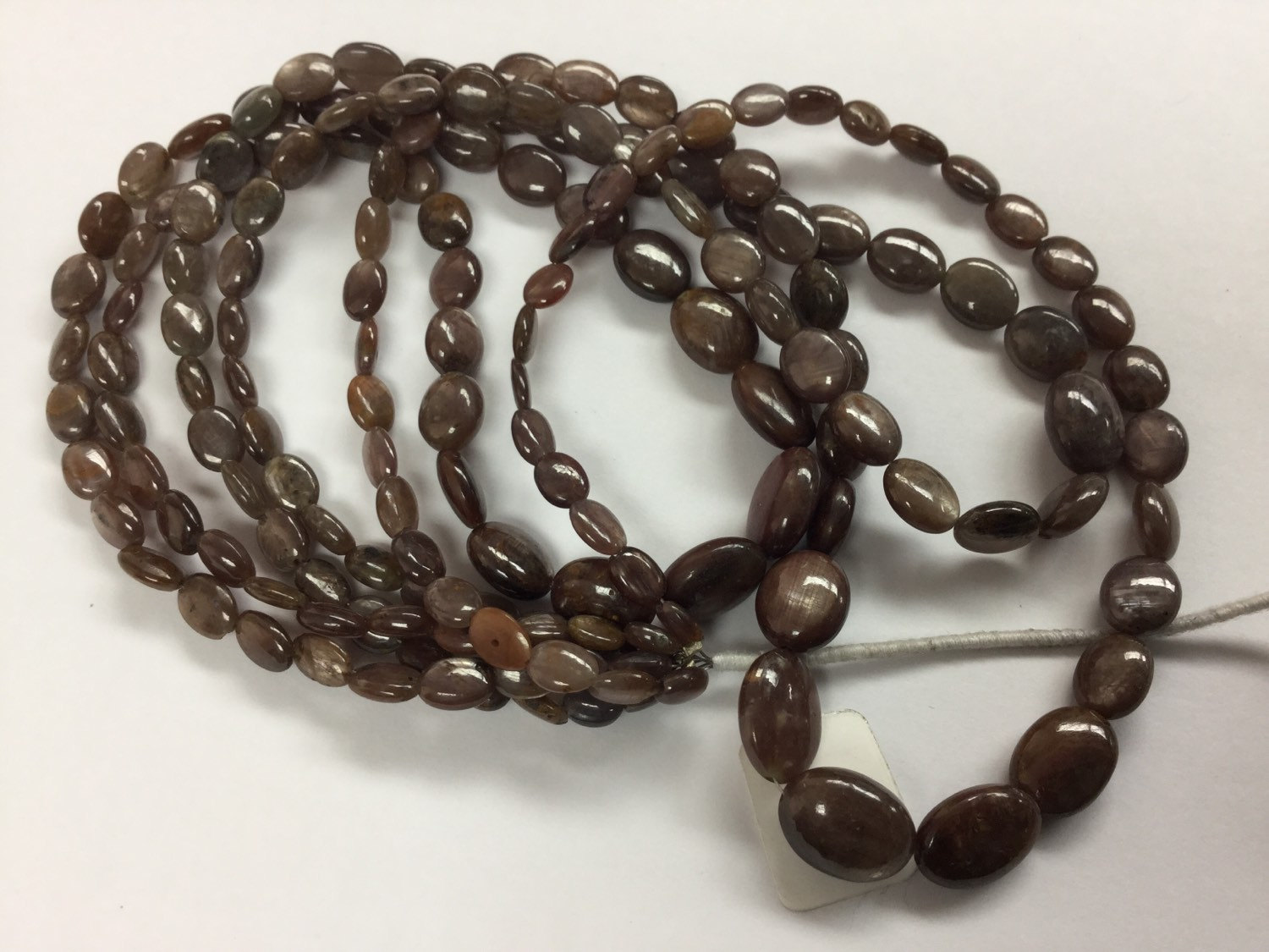 Brown Sapphire Ovals Smooth