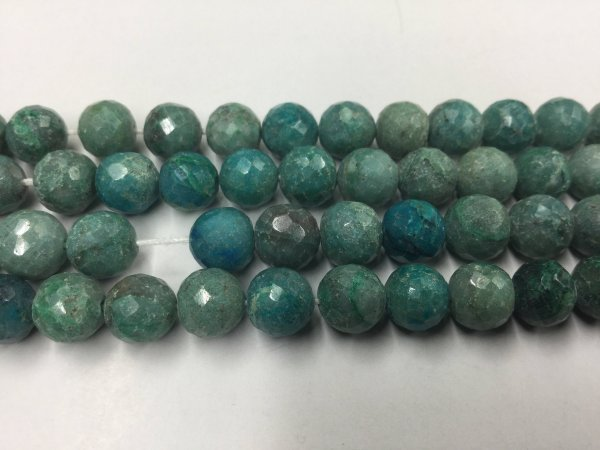 Chrysocolla Rounds Faceted