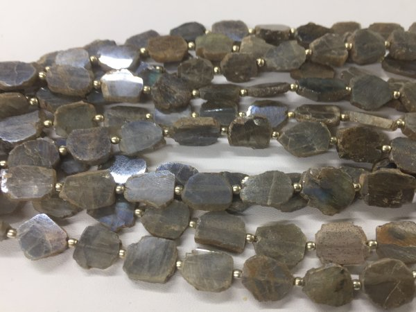Labradorite Slice Faceted