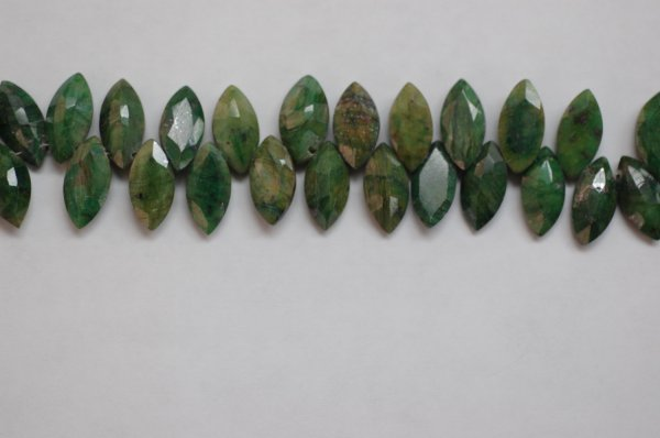 Emerald Marquise Faceted