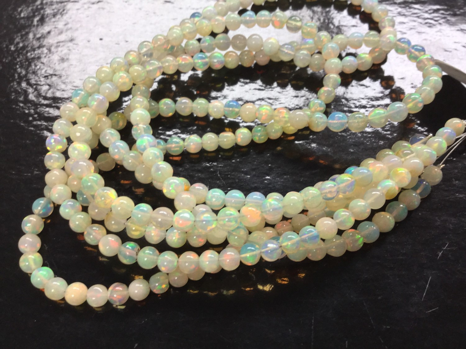 Ethiopian Opal Rounds Smooth