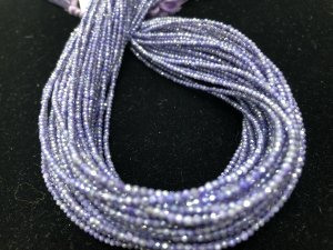 Coated Purple Moonstone Rounds Faceted