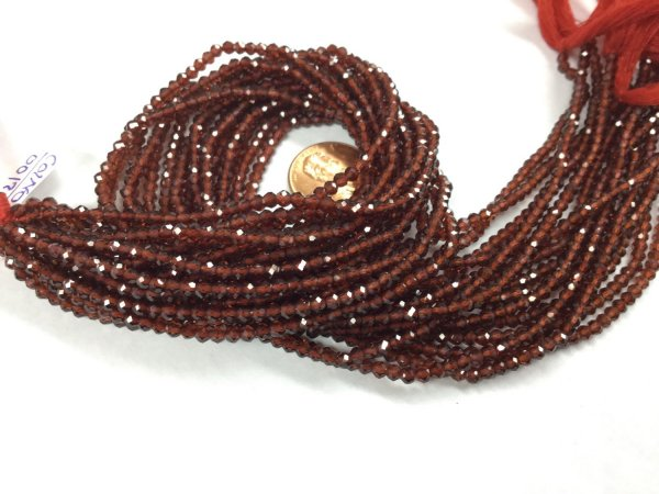 Garnet Rounds Faceted