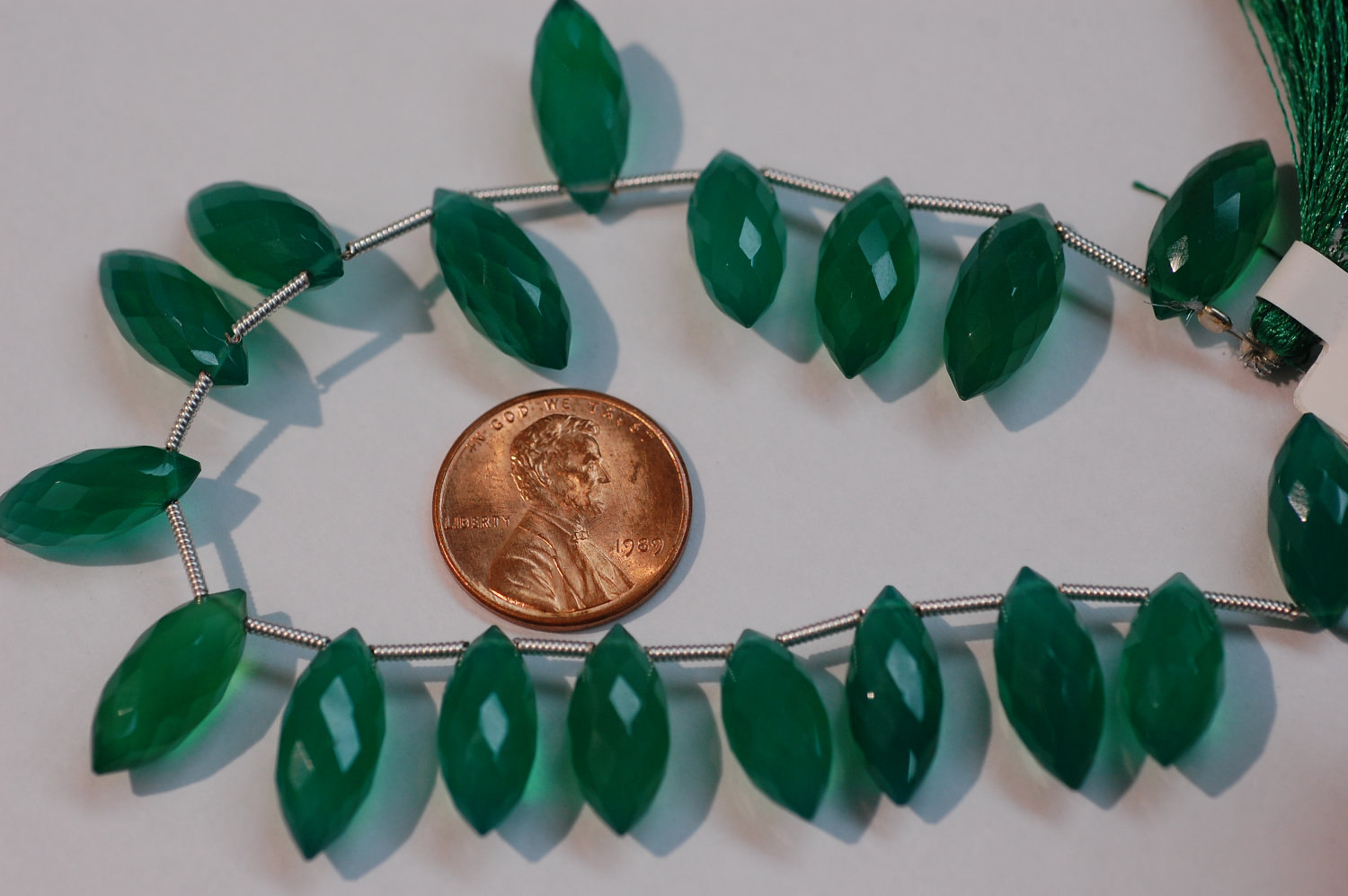 Green Onyx Puff Marquse