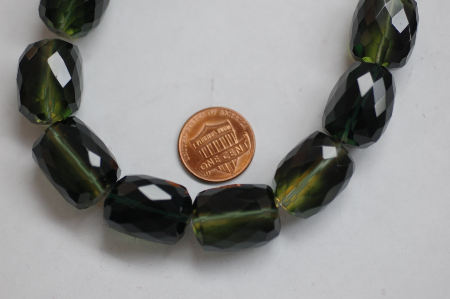 Green Quartz Nuggets Faceted