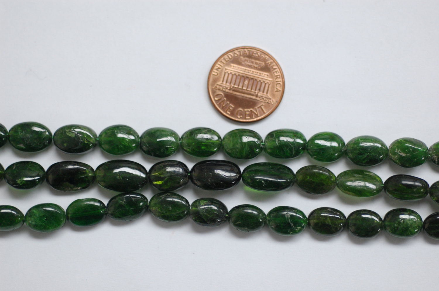 Green Tourmaline Oval Smooth