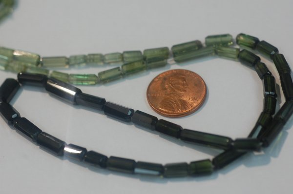Green Tube Tourmaline