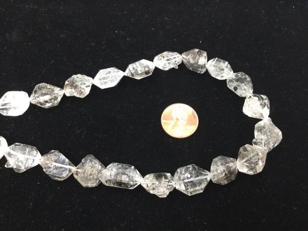 Herkimar Diamonds Funky Cut Faceted (Quartz)
