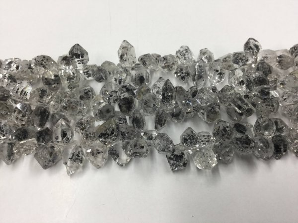 Herkimer Diamonds Funky Cut Faceted(Quartz)