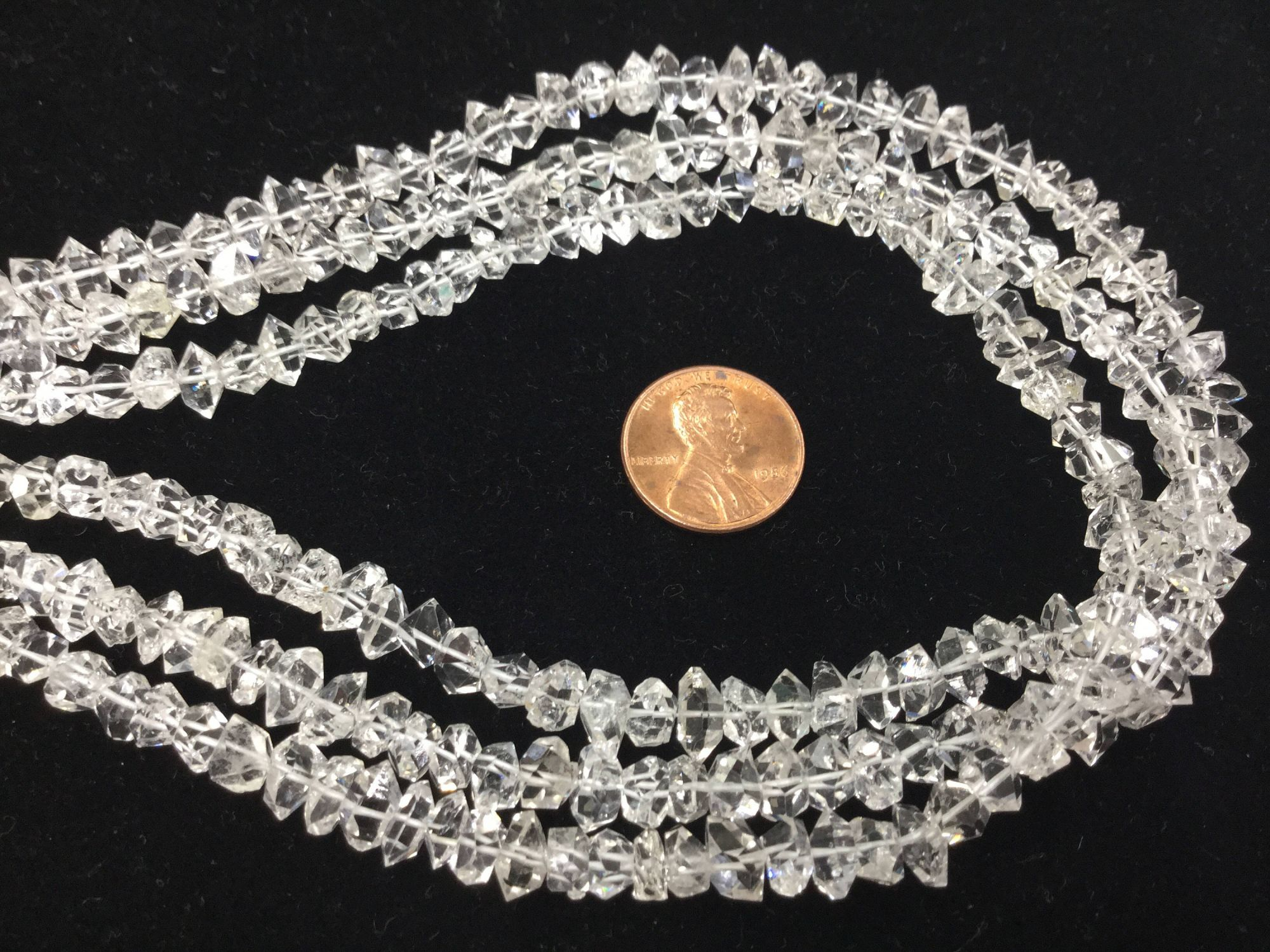 Herkimer Diamonds Funky Cut Faceted