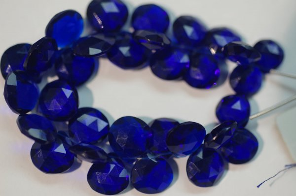 Hydro Dark Purple Heart Faceted