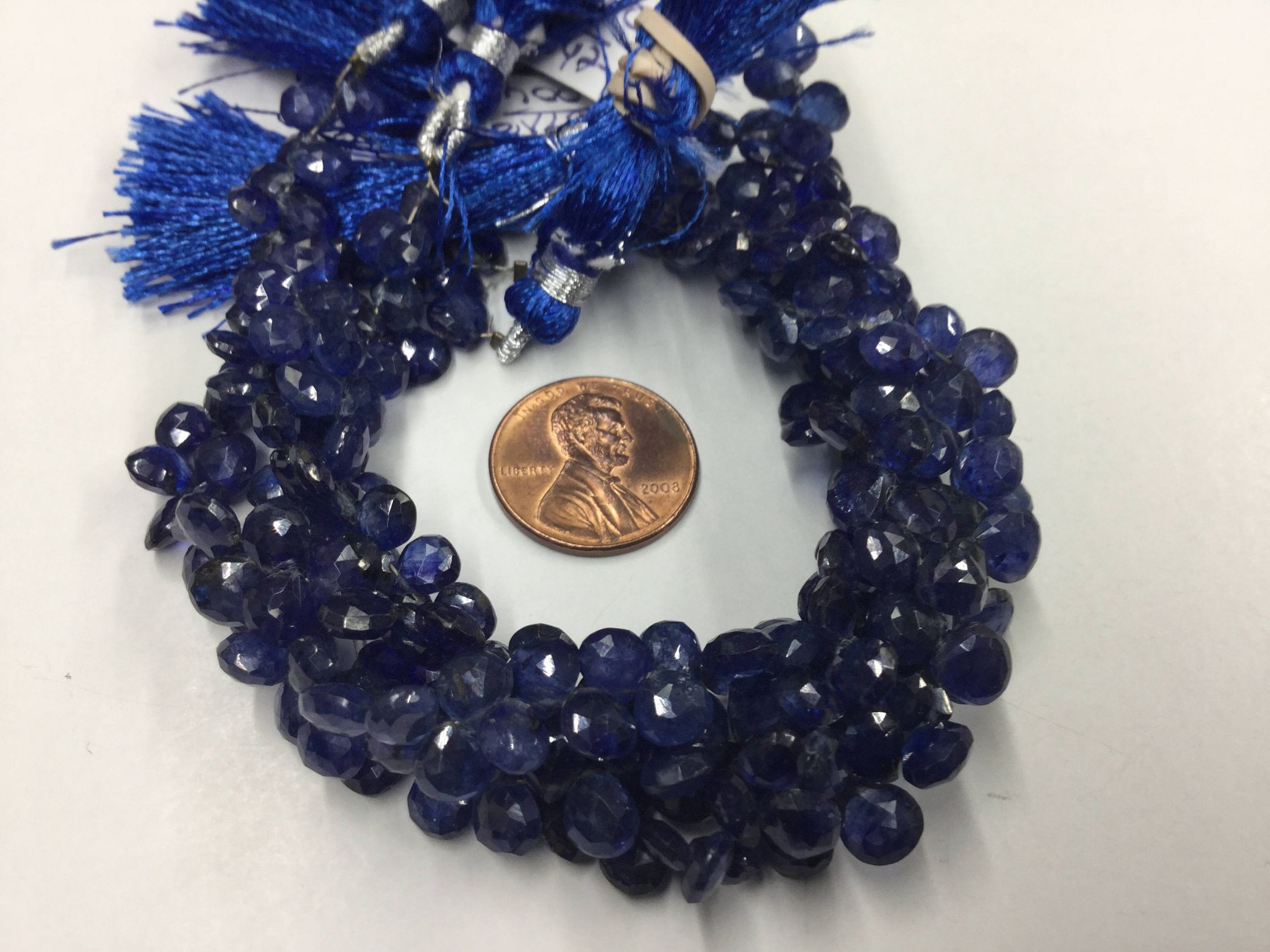 Natural Blue Sapphire Hearts Faceted