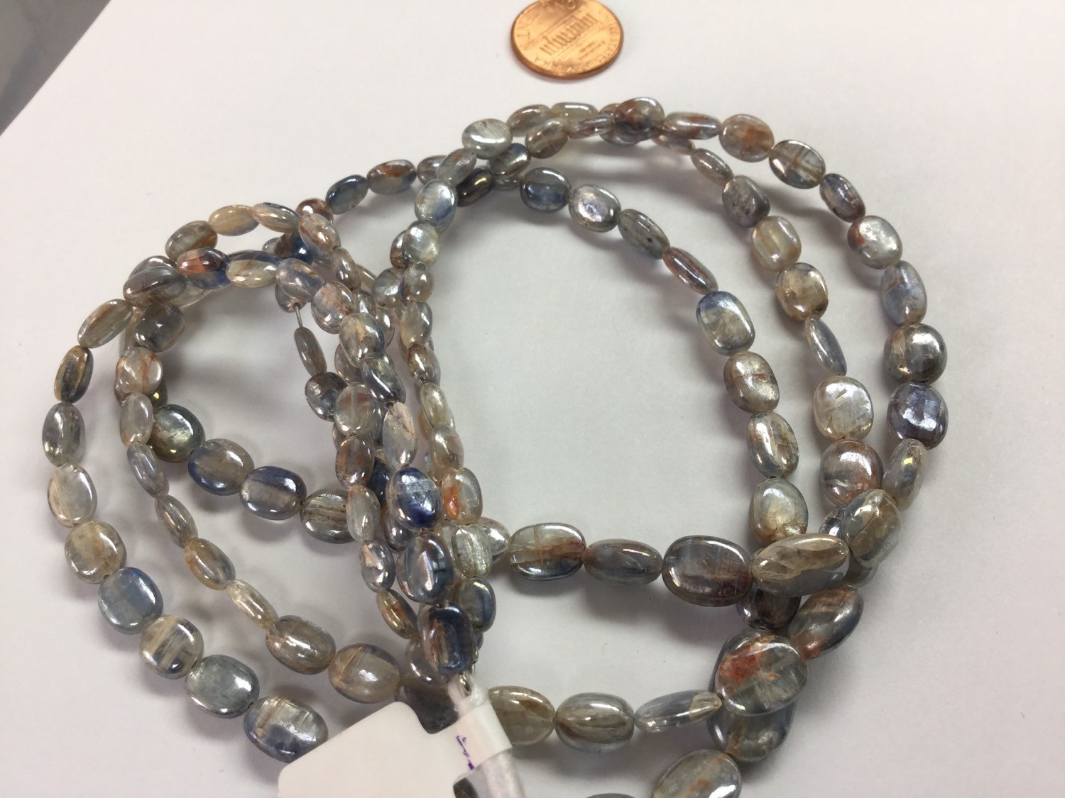 Kyanite Ovals Smooth (Graduated)