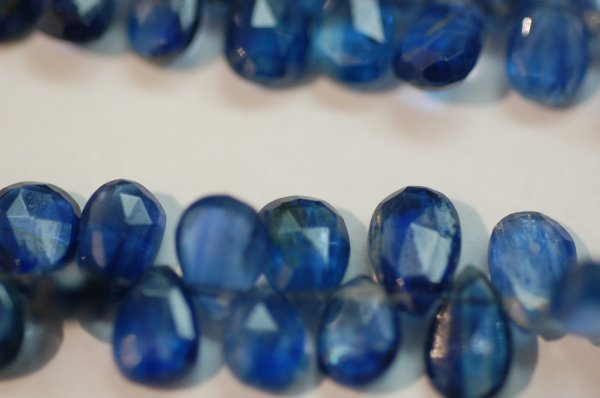 Kyanite Pear Faceted (MEDIUM SIZE)