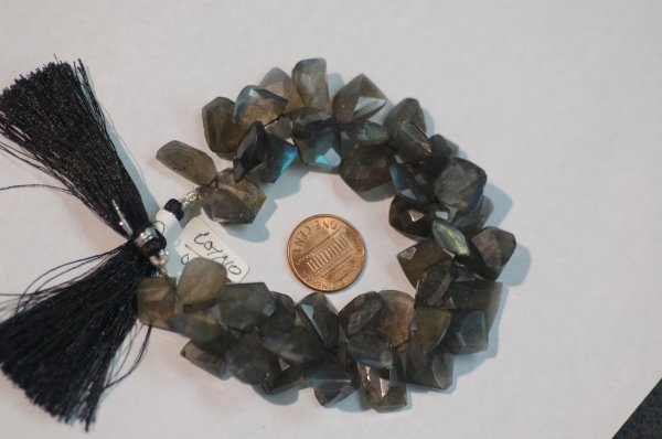 Labradorite Funky Cut Faceted