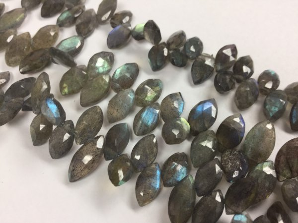 Labradorite Marquise Faceted