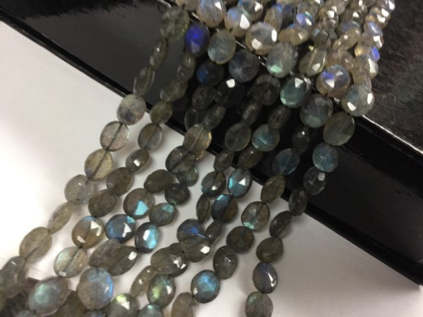 Labradorite Ovals Faceted