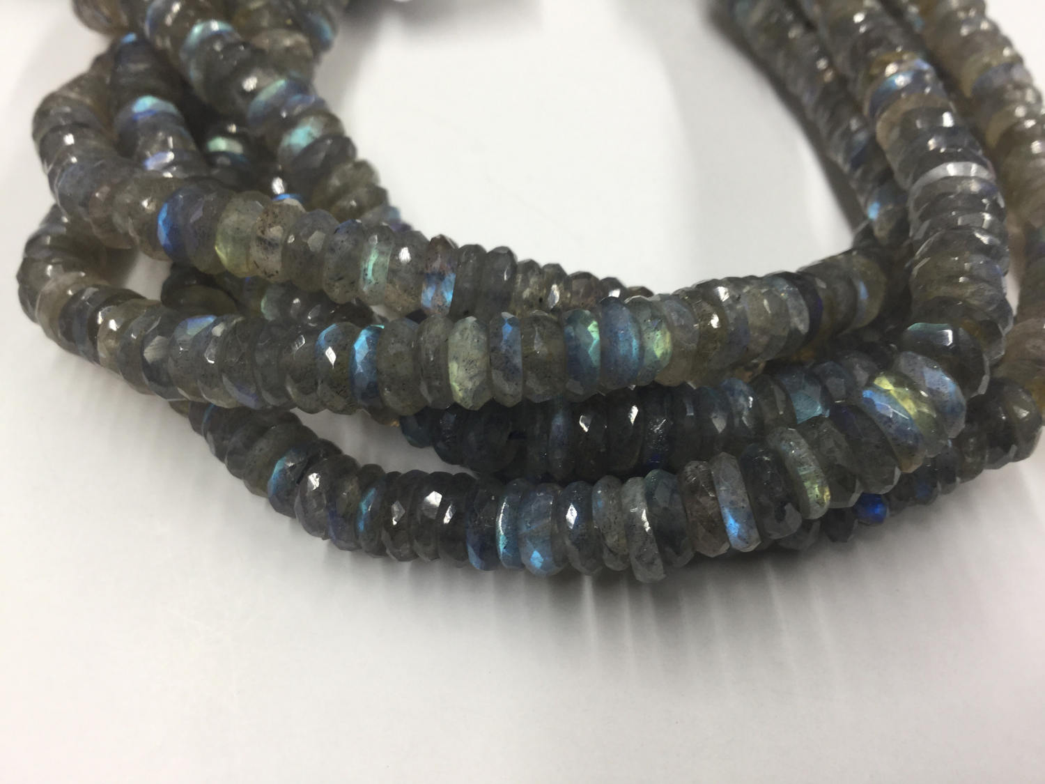 Labradorite Tires Faceted