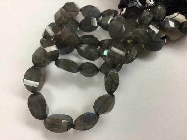 Labradorite Twisted oval Faceted