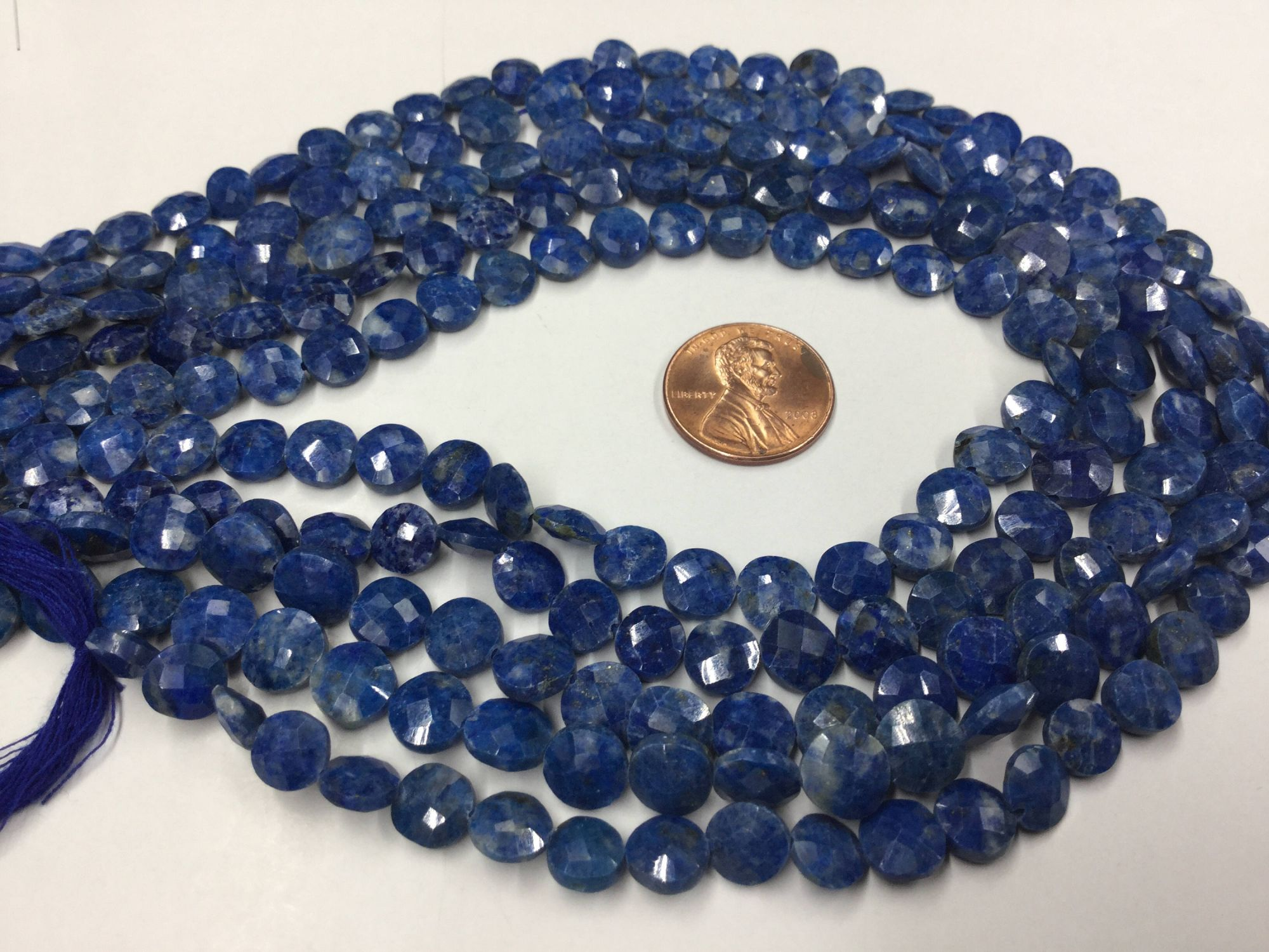 Lapis Coins Faceted