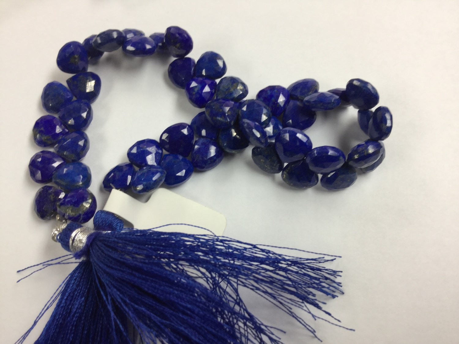 Lapis Hearts Faceted