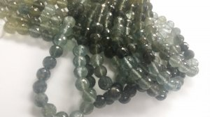 Moss Aquamarine Rounds Faceted