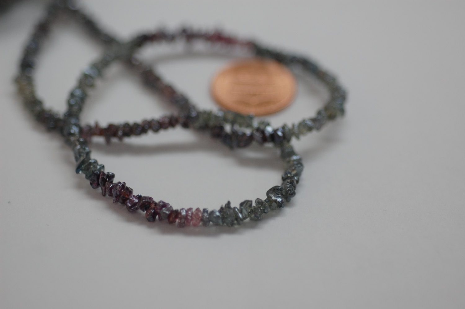 Multi Mystic Spinal Rough Cut Faceted (Platinum Polished)