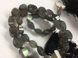 Mystic Labradorite Twisted Drops
