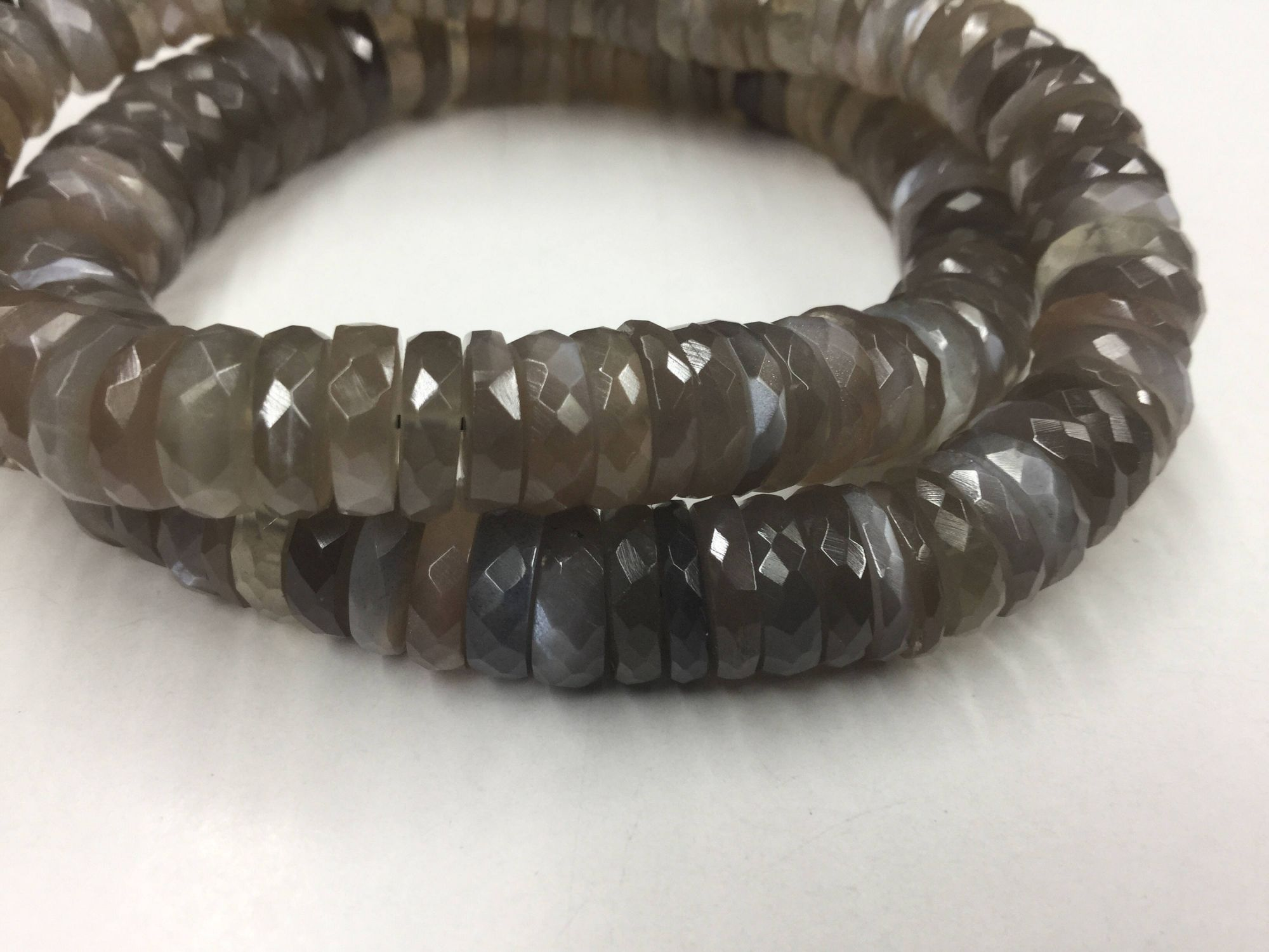 Mystic Moonstone Tires Faceted
