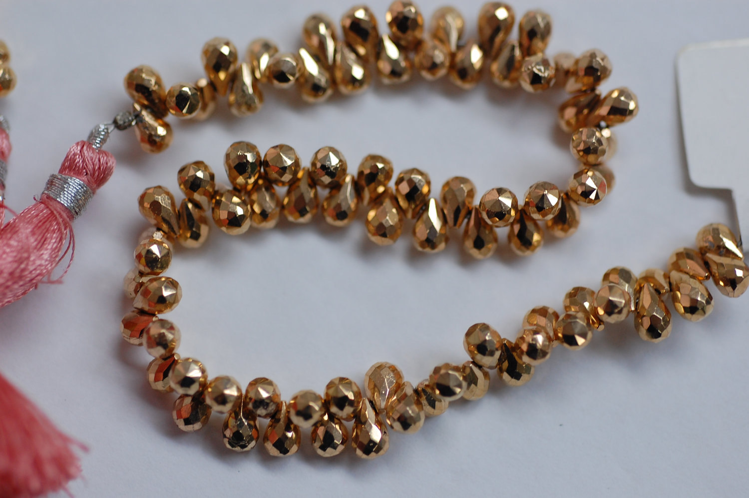 Mystic Pyrite Rose Gold Coated - Drops
