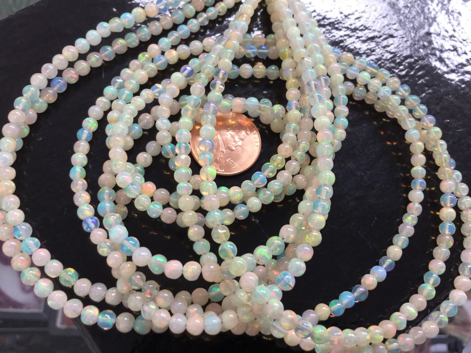 Natural Ethiopian Opal Rounds Smooth