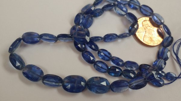 Natural Kyanite Ovals Smooth
